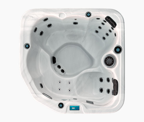 GL630 Garden Leisure Spa Series Aerial View | Garden Leisure Spas available at the Recreational Warehouse Southwest Florida (Naples, Fort Myers and Port Charlotte Locations) Pool Warehouse
