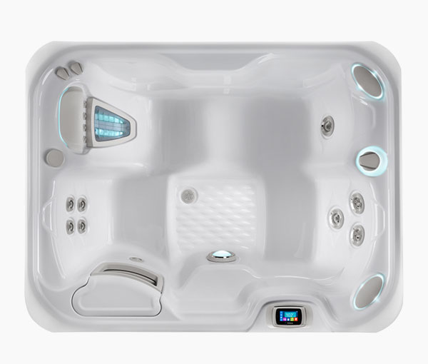 Jetsetter Hot Tub Spa Aerial View | Hot Springs Spas available at the Recreational Warehouse Southwest Florida (Naples, Fort Myers and Port Charlotte Locations) Pool Warehouse