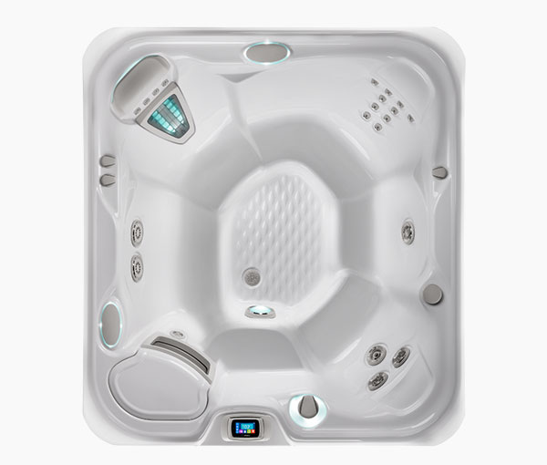 Prodigy Hot Tub Spa Aerial View | Hot Springs Spas available at the Recreational Warehouse Southwest Florida (Naples, Fort Myers and Port Charlotte Locations) Pool Warehouse