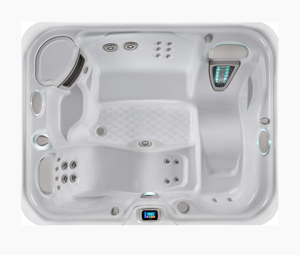 Triumph Hot Tub Spa Aerial View | Hot Springs Spas available at the Recreational Warehouse Southwest Florida (Naples, Fort Myers and Port Charlotte Locations) Pool Warehouse