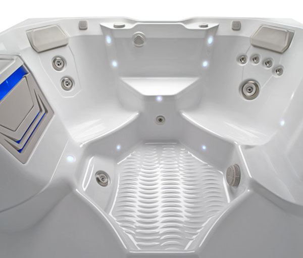 Beam Hot Tub Spa Interior Jet Details | Hot Springs Spas available at the Recreational Warehouse Southwest Florida (Naples, Fort Myers and Port Charlotte Locations) Pool Warehouse