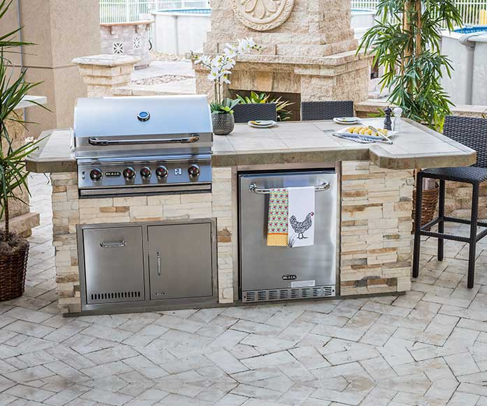 Captiva from the Resort Collection of Designer Outdoor Kitchen Models | The Recreational Warehouse Naples, Fort Myers and Port Charlotte