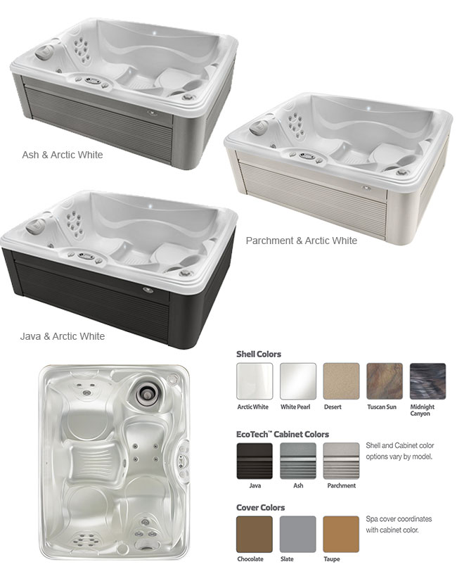 Celio Color Options | Caldera Spas available at the Recreational Warehouse Southwest Florida (Naples, Fort Myers and Port Charlotte Locations) Pool Warehouse