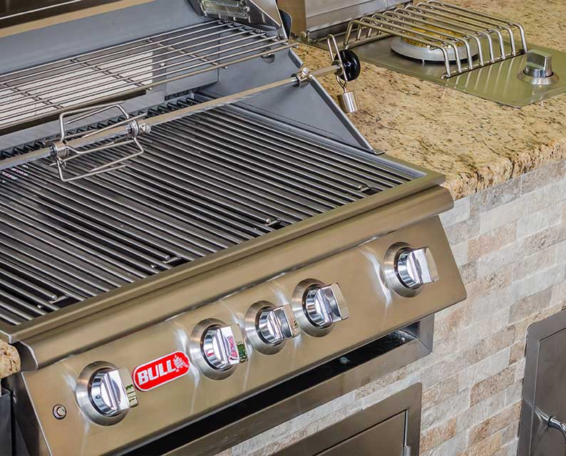 Bull Components and Parts for Outdoor Kitchens from The Recreational Warehouse Southwest Florida's Leading Warehouse for Spas, Hot Tubs, Pool Heaters, Pool Supplies, Outdoor Kitchens and more!