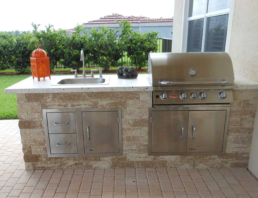 Custom Outdoor Kitchens The Recreational Warehouse