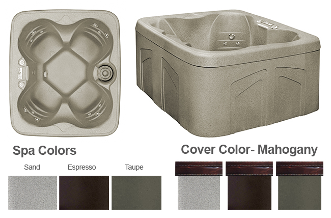Freeflow 100 Color Options | Freeflow Spas available at the Recreational Warehouse Southwest Florida (Naples, Fort Myers and Port Charlotte Locations) Pool Warehouse