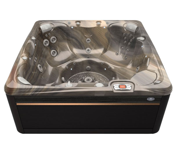 Reunion Hot Tub in Java and Tuscan Sun | Caldera Spas available at the Recreational Warehouse Southwest Florida (Naples, Fort Myers and Port Charlotte Locations) Pool Warehouse