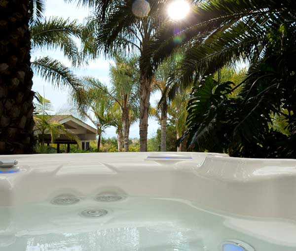 Point of view in Jetsetter Hot Tub Spa | Hot Springs Spas available at the Recreational Warehouse Southwest Florida (Naples, Fort Myers and Port Charlotte Locations) Pool Warehouse