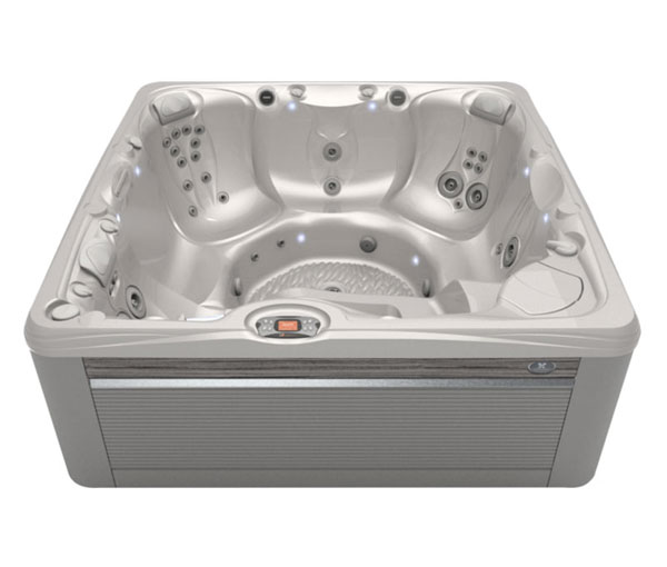 Makena Hot Tub in Ash and White Pearl | Caldera Spas available at the Recreational Warehouse Southwest Florida (Naples, Fort Myers and Port Charlotte Locations) Pool Warehouse