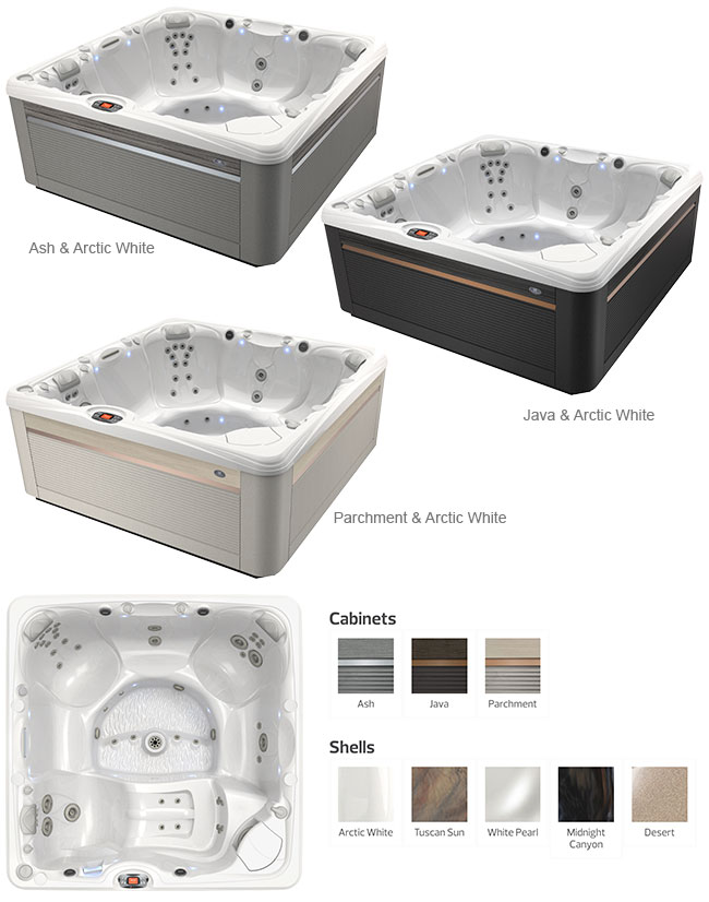 Makena Color Options | Caldera Spas available at the Recreational Warehouse Southwest Florida (Naples, Fort Myers and Port Charlotte Locations) Pool Warehouse