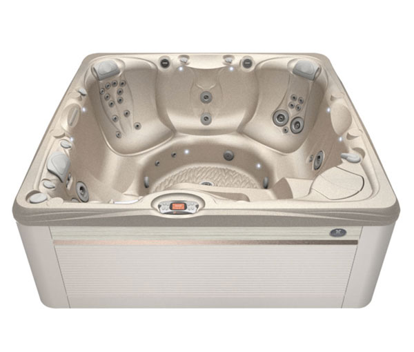 Makena Hot Tub in Parchment and Desert | Caldera Spas available at the Recreational Warehouse Southwest Florida (Naples, Fort Myers and Port Charlotte Locations) Pool Warehouse