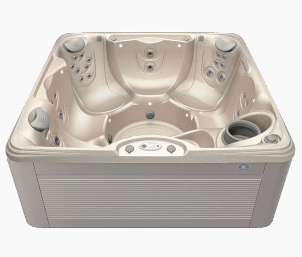 Marino Hot Tub in Ash and Desert | Caldera Spas available at the Recreational Warehouse Southwest Florida (Naples, Fort Myers and Port Charlotte Locations) Pool Warehouse