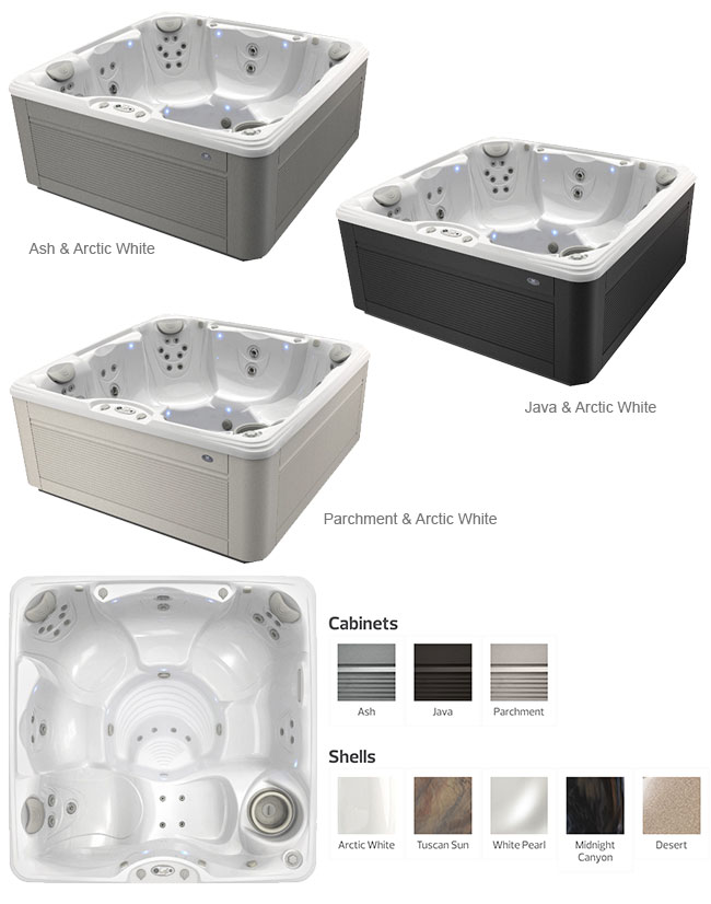 Marino Color Options | Caldera Spas available at the Recreational Warehouse Southwest Florida (Naples, Fort Myers and Port Charlotte Locations) Pool Warehouse