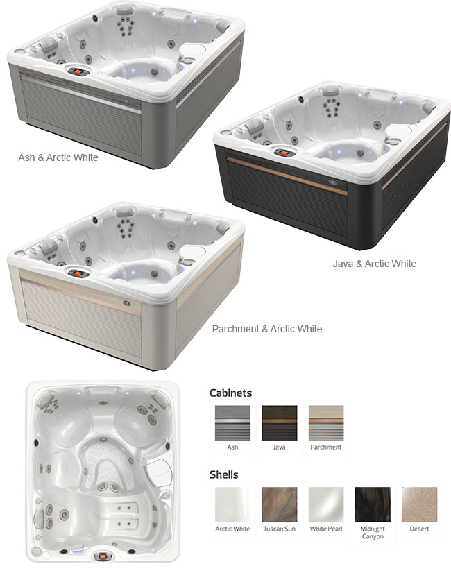 Martinique Color Options | Caldera Spas available at the Recreational Warehouse Southwest Florida (Naples, Fort Myers and Port Charlotte Locations) Pool Warehouse
