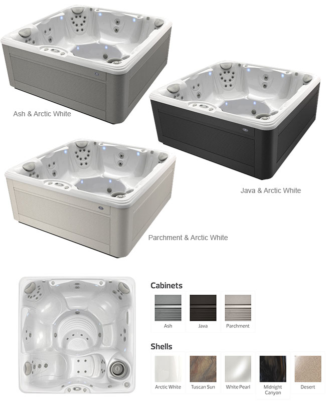 Palatino Color Options | Caldera Spas available at the Recreational Warehouse Southwest Florida (Naples, Fort Myers and Port Charlotte Locations) Pool Warehouse