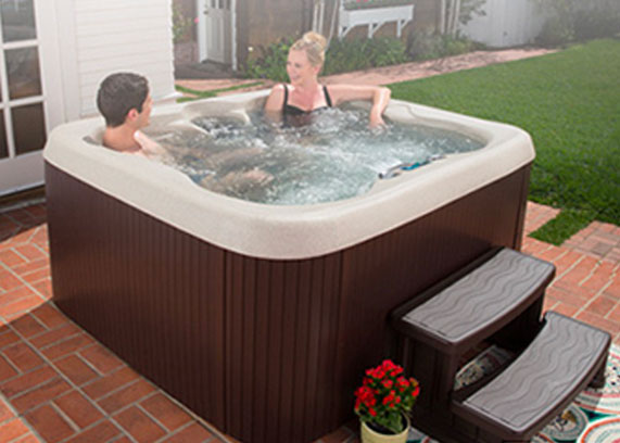 Hot Spring® Spa PL-520 from The Recreational Warehouse Southwest Florida's Leading Warehouse for Spas, Hot Tubs, Pool Heaters, Pool Supplies, Outdoor Kitchens and more!