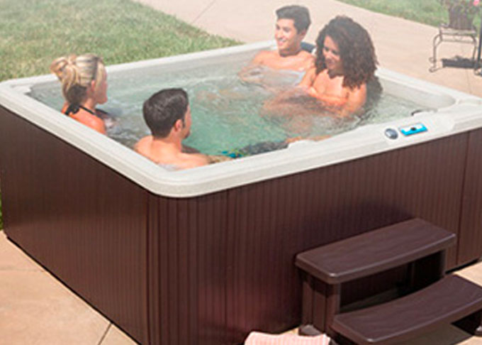 Hot Spring® Spa PL-527 from The Recreational Warehouse Southwest Florida's Leading Warehouse for Spas, Hot Tubs, Pool Heaters, Pool Supplies, Outdoor Kitchens and more!