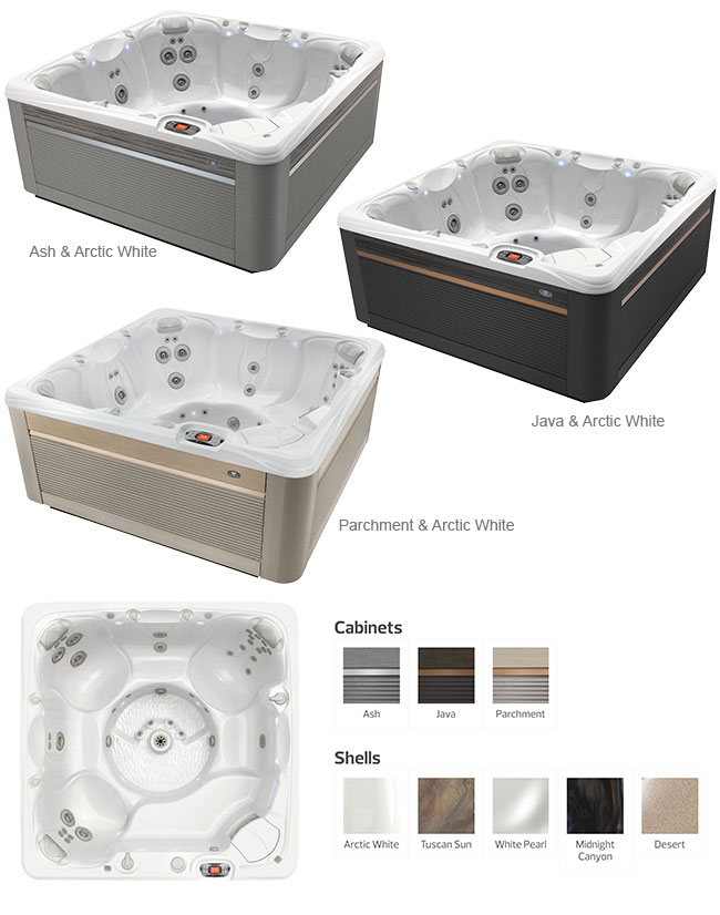 Reunion Color Options | Caldera Spas available at the Recreational Warehouse Southwest Florida (Naples, Fort Myers and Port Charlotte Locations) Pool Warehouse