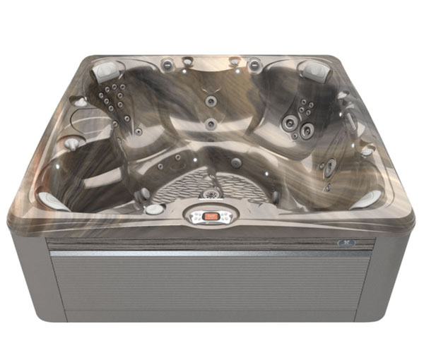 Salina Hot Tub in Ash and Tuscan Sun | Caldera Spas available at the Recreational Warehouse Southwest Florida (Naples, Fort Myers and Port Charlotte Locations) Pool Warehouse