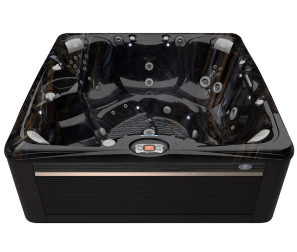 Salina Hot Tub in Java and Midnight Canyon | Caldera Spas available at the Recreational Warehouse Southwest Florida (Naples, Fort Myers and Port Charlotte Locations) Pool Warehouse