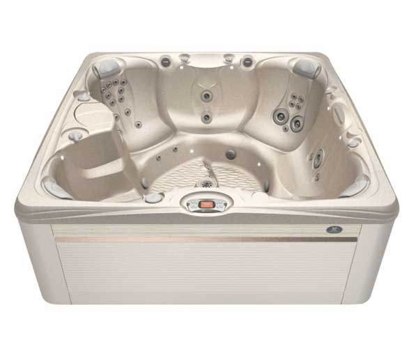 Salina Hot Tub in Parchment and Desert | Caldera Spas available at the Recreational Warehouse Southwest Florida (Naples, Fort Myers and Port Charlotte Locations) Pool Warehouse