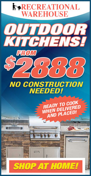 Outdoor Kitchen September 2021 Pricing | The Recreational Warehouse