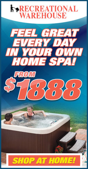 Spas and Hot Tubs September 2021   The Recreational Warehouse