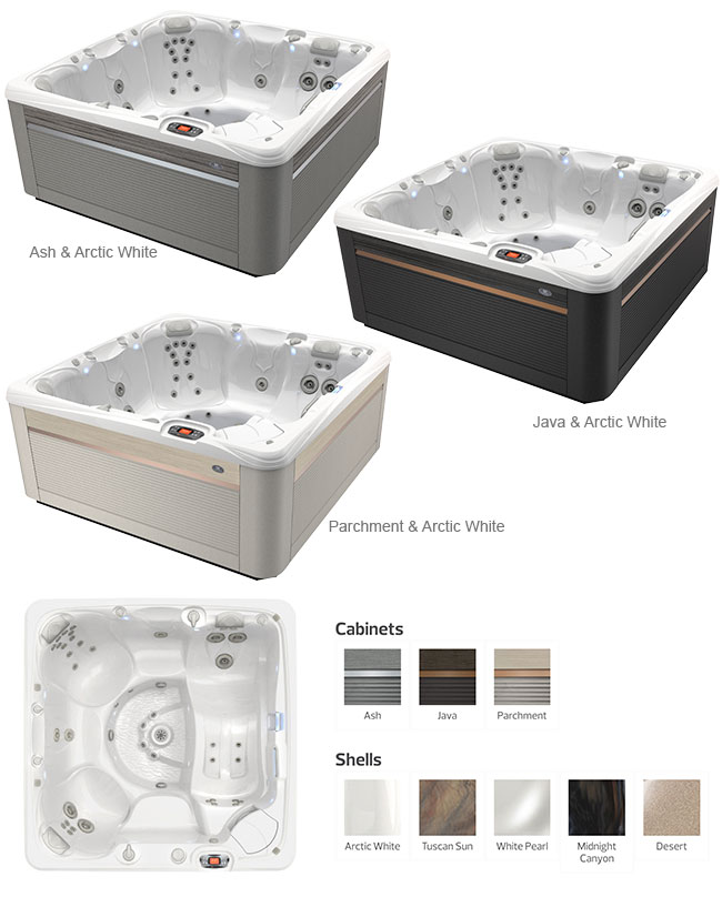 Seychelles Color Options | Caldera Spas available at the Recreational Warehouse Southwest Florida (Naples, Fort Myers and Port Charlotte Locations) Pool Warehouse