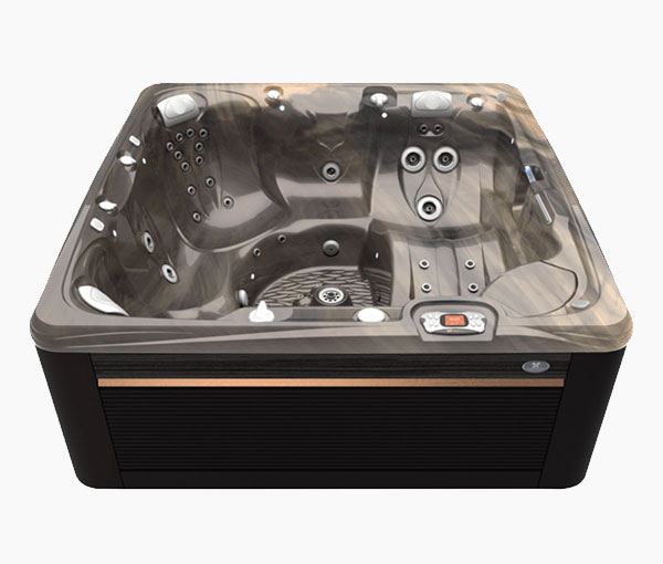 Seychelles Hot Tub in Java and Tuscan Sun | Caldera Spas available at the Recreational Warehouse Southwest Florida (Naples, Fort Myers and Port Charlotte Locations) Pool Warehouse