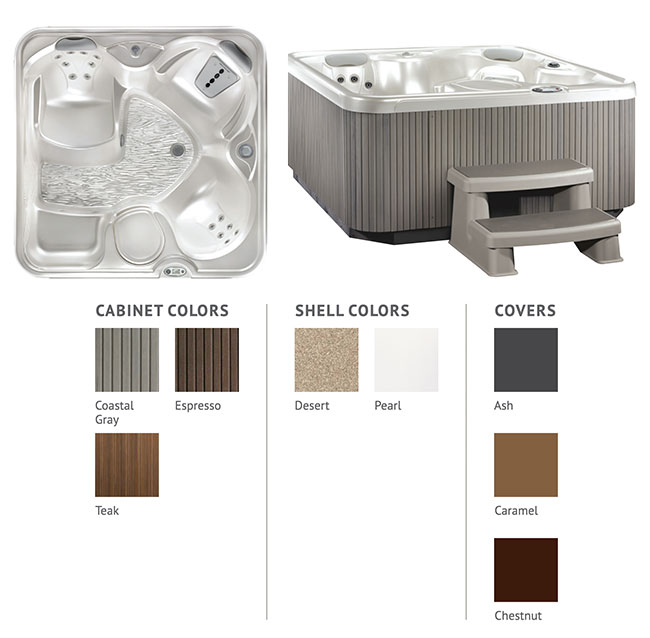 SX Color Options | Hot Springs Spas available at the Recreational Warehouse Southwest Florida (Naples, Fort Myers and Port Charlotte Locations) Pool Warehouse