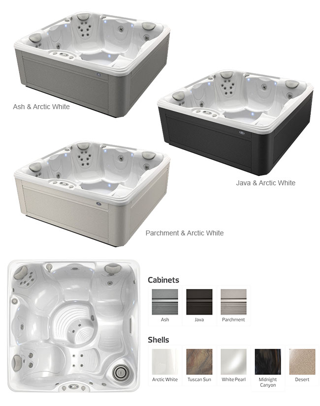 Tarino Color Options | Caldera Spas available at the Recreational Warehouse Southwest Florida (Naples, Fort Myers and Port Charlotte Locations) Pool Warehouse
