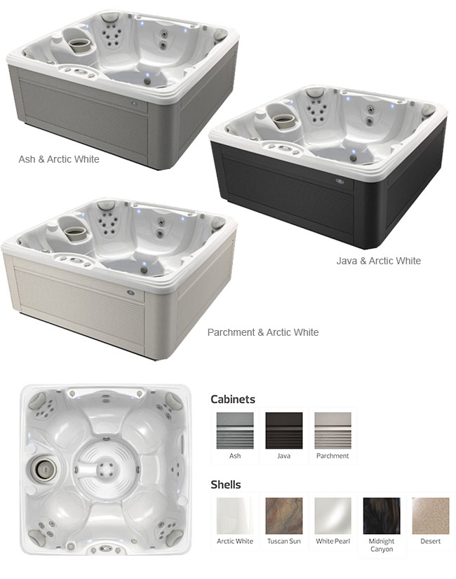 Vanto Color Options | Caldera Spas available at the Recreational Warehouse Southwest Florida (Naples, Fort Myers and Port Charlotte Locations) Pool Warehouse